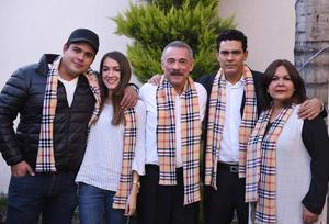 Diego, Krista, Enrique, Enrique y Rocío