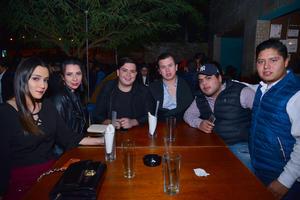 10012018 Andrea, Katya, Alan, Frankie, Andrés y Gustavo.