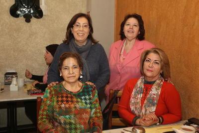 Carmen Ruvalcaba, Cristina Roqueta, Silvia Martínez e Inés Camacho.
