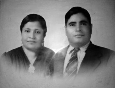 14012018 Paula Flores de Moreno y Don Bartolo Moreno, en 1948.