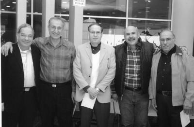 14012018 Ing. Jesús Flores (f), Ing. Nicolás Zarzar, Lic. Germán Froto (f), Lic. Braudelio Cuéllar y Lic. Jesús Reyes en 1992.
