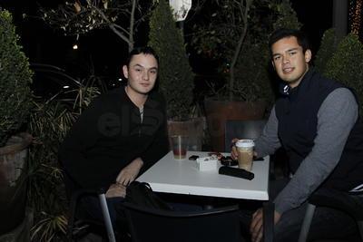 Rodrigo y Abelardo.