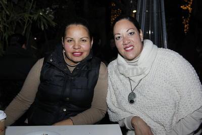 Lupita Soto y Ana Bojórquez.