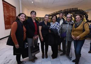 15012018 Graciela, Dora, Julia, Rosa, María Luisa, Martha y Ramona.