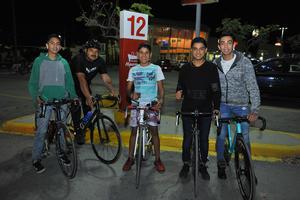 15012018 Jonathan, Amilcar, Kevin, Adrián y Andrés.