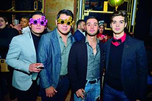 15012018 AMIGOS.   Javier, Lalo, Juan Carlos y Valente.