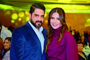 14012018 EN PAREJA.  Ernesto Reyes y Bárbara Adame.