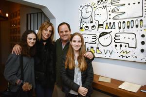 16012018 Arantza, Gisela, Iñaki y Manuela.