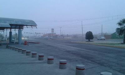 En algunas vialidades la visibilidad era poca o nula, por lo que se recomienda manejar con precaución.