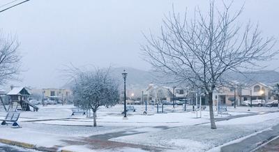 La mañana de este miércoles, la ciudad de Saltillo amaneció con una temperatura de -5 grados centígrados. (Fotografía: Alexandra @Alexand82565283)