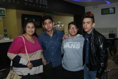 Daniela, Antonio, Sarahí y Samuel.