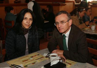Adriana y Jaime.