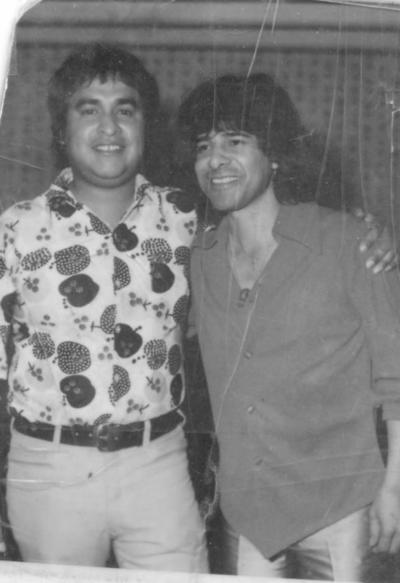 21012018 Jaime Montoya y Rigo Tovar en el Casino Leonístico en 1980.