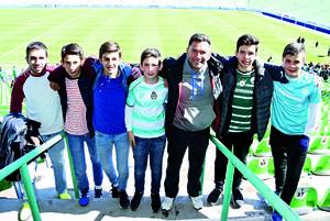 22012018 EN EL TSM.  Jorge, Juan, Diego, Rodolfo, César, Mauricio y Franky.