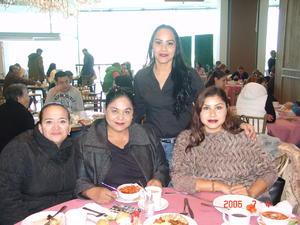 22012018 Claudia Reyes, Araly Acosta, Maribel de Santiagoy y Mary Guerrero.