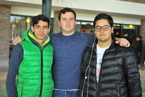 Diego, Angel y Maurilio