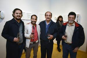Román, Rafael, Gerardo y Aristeo