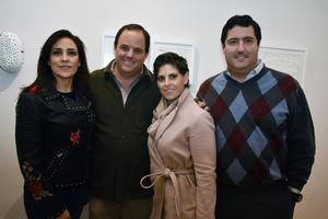 Sylvia, INaki, Pilar y Juan Carlos