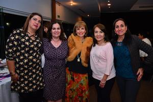 Gabriella, Guadalupe, Nena, Dinorah y Mayela