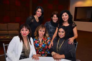 Lupita, Paty, Mercedes, Graciela, Martha y VerOnica