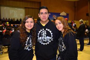 Priscila, Mauricio y María Fernanda