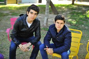 Arsenio y Cristian
