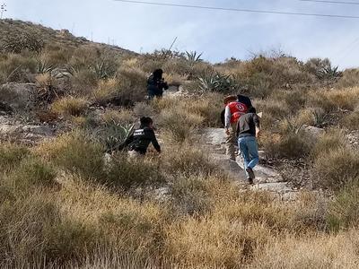 Las labores incluyeron elementos de Fuerza Coahuila, PC, Policía Municipal, Sedena y Conafor.