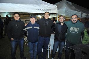 23012018 Orlando, José Trinidad, Ángel, Omar y Félix.