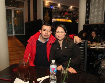 Fernando y Adriana.