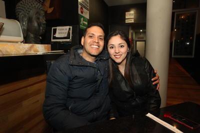 Alejandro y Sara.