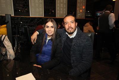 Karla y Miguel.