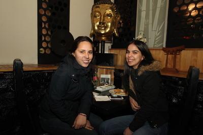 Marian y Fernanda.