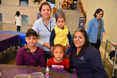 25012018 Sara, José, Andrea, Celeste y Sara.