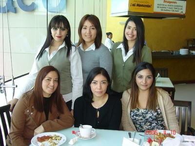 25012018 Ale, Gloria, Ely, Lucy, Arianna y Angélica.