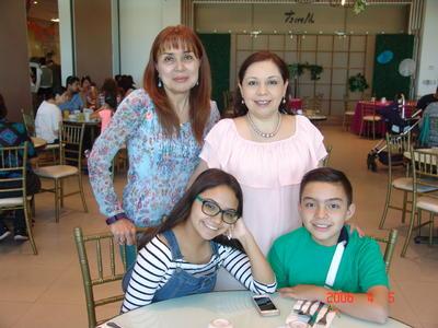 25012018 Beatriz, Tere, Margarita y Miguel.