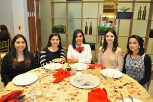 25012018 Nohemí, Daniela, Fernanda, Angelina e Isela.