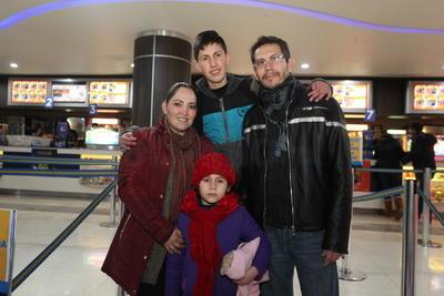 Familia Álvarez Torres.
