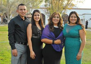 27012018 Fredy, Jennifer, Luz y Jessica.