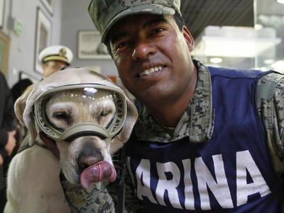 Dona la perrita Frida sus botitas al Museo del Calzado.