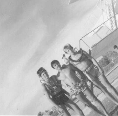 28012018 Buzos de la Cruz Roja en 1974. José Macofela, Raúl Ordaz y Roberto de Anda.