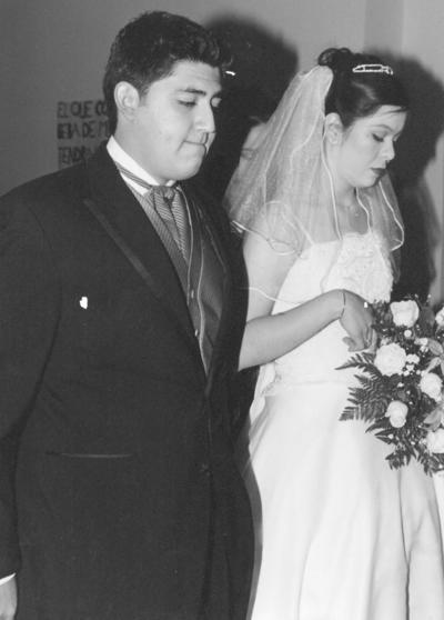 28012018 Gerardo Rimada Blanco y Selene Luna Navarro, el 20 de enero en su matrimonio religioso.