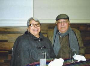 28012018 EN RECIENTE EVENTO.  José Ramón Ocón Acosta con su esposa, Beatriz Pérez Aguirre.