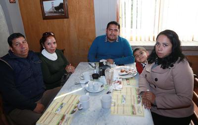 Familia Ortiz Moreno