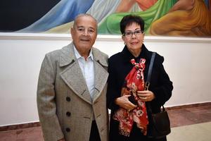 30012018 EN PAREJA.  Ismael y María Eugenia.