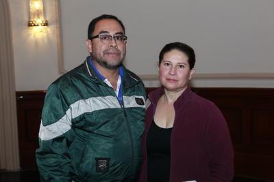 Isidro Rojas y María de la Luz.