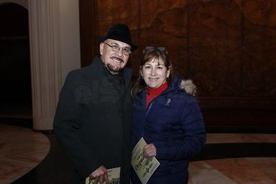 Juan Antonio y Claudia.