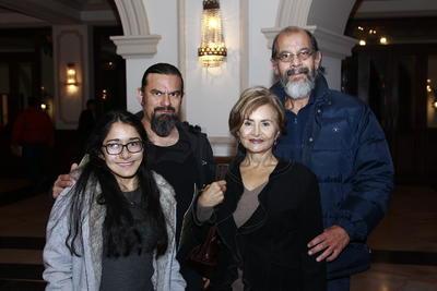 María, Jesús, Fernando y Estefany.