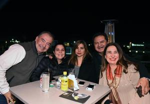 31012018 Rogelio, Mary Cristy, Marcela, José Antonio y Maribel.