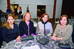 31012018 ENTRE AMIGAS.  Jenny, Nancy, Olga y Ale.
