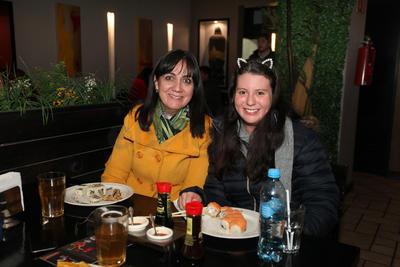 Mireya y Ana Fer.